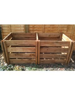 1200 Blackdown Range Double Slotted Wooden Composter