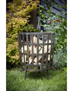 Gothic Log Basket 45cm