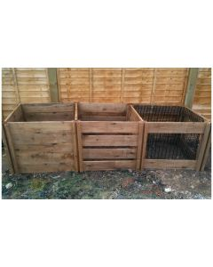 1900 Blackdown Range Triple Mix Wooden Composter