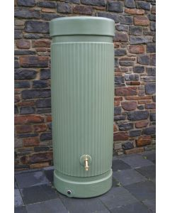 300L Georgian Pillar Water Tank Column - Green
