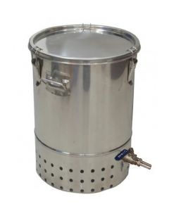 30L Deluxe Stainless Steel Bokashi Composter