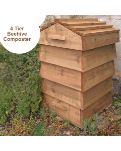 Blackdown Beehive Wooden Composter - 4 Tier - DIY
