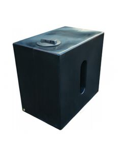 500 Litre Cube Rainwater Tank in Black