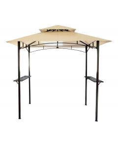 Steel Gazebo In Beige
