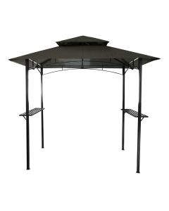 Steel Gazebo In Grey