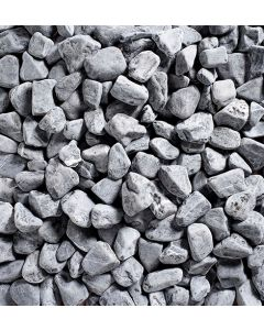 Kelkay Decorative Aggregate Black Sea Cobbles, Bulk Bag