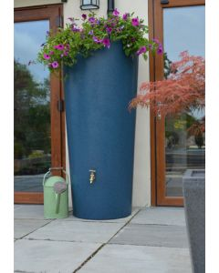380 Litre Garden Planter Water Butt Bluestone with Tap Kit & Diverter