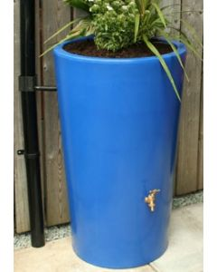180L Garden Planter Water Butt Blue