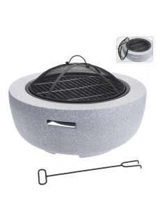Fire Bowl with BBQ Rack - 60cm