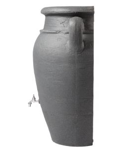 260L Antique WALL Amphora Water Butt - Granite