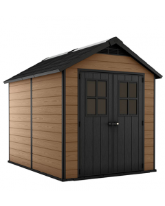 Keter Storage Shed Newton 759 - Brown Wood Effect