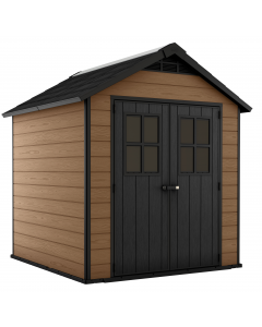 Keter Storage Shed Newton 757 - Brown Wood Effect