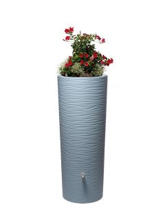 350L Natura 2 in 1 Water Tank with Planter - Ocean Blue