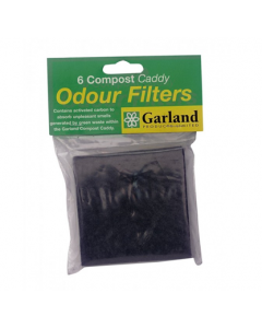 Pack of 6 Odour Filters for Slimline Caddy