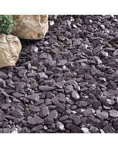Kelkay Plum Slate 40mm Decorative Aggregate, Bulk Bag