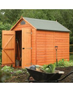 Rowlinson Security Shed - 8' x 6'