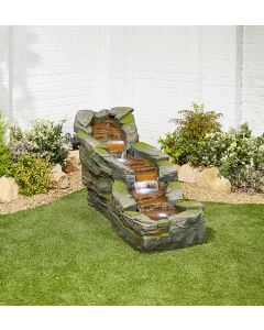 Kelkay Simmering Falls Water Feature with LEDs