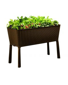 120L Easy Growing Planter - Whiskey Brown