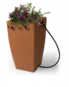 185L Madison Rain Barrel - Terracotta