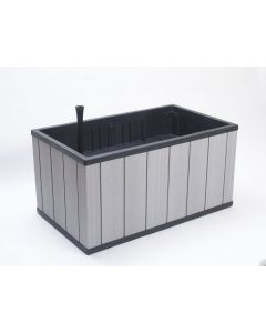 Sequoia Large Planter - Light Grey