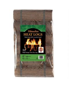 Homefire Heat logs 12 Pack