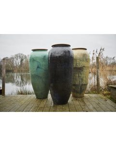 Haikou 160cm Water Jar In Green