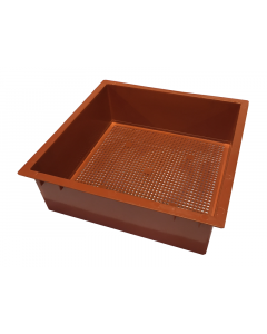 Tiger Wormery Tray in Terracotta