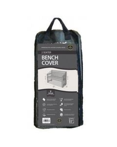 2 Seater Bench Cover Black