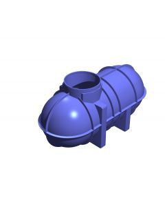 2,600L Non-Potable Underground Tank (Bare Tank Only)