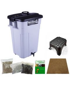 The Deluxe Original Wormery Composter Kit (including stand)